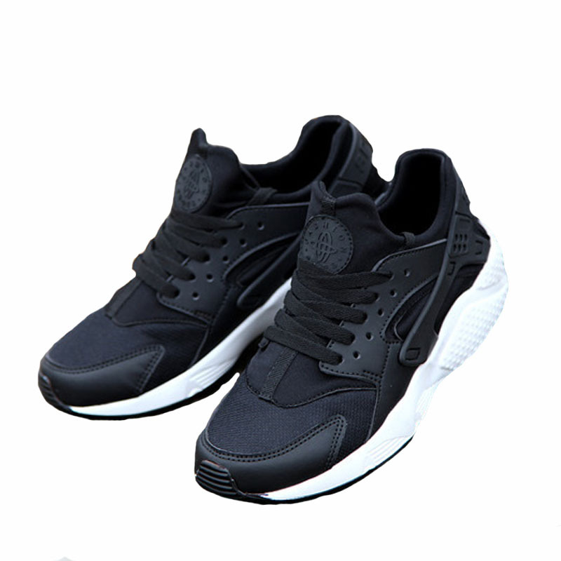Get Quotations · Men Breathable sports shoes lightweight Solid PU bottom  Sneakers outdoor male huarache Hip-hop zapatos 8e8d6b08e