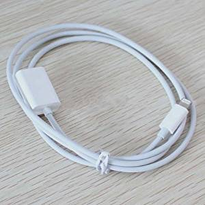 SITECH (DATA AND CHARGING ONLY!)8 Pin Lightning Extension Male to Female M/f Cable for Iphone 6,iphone 6 Plus,iphone 5 5c 5s, Ipad Air,ipad Mini,ipad 4,ipod Touch 5g ,Nano 7-white,Lightning Extension Cable (3 foot black) for iPhone 6, 6 Plus;Data, Through Male to Female 8-Pin Cable. dockXtender for