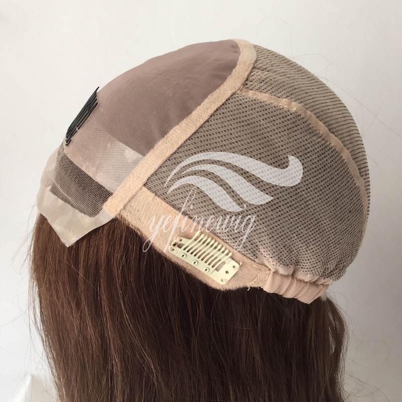 Silicone For Wig Making Human Hair Jewish Wig Kosher Wigs