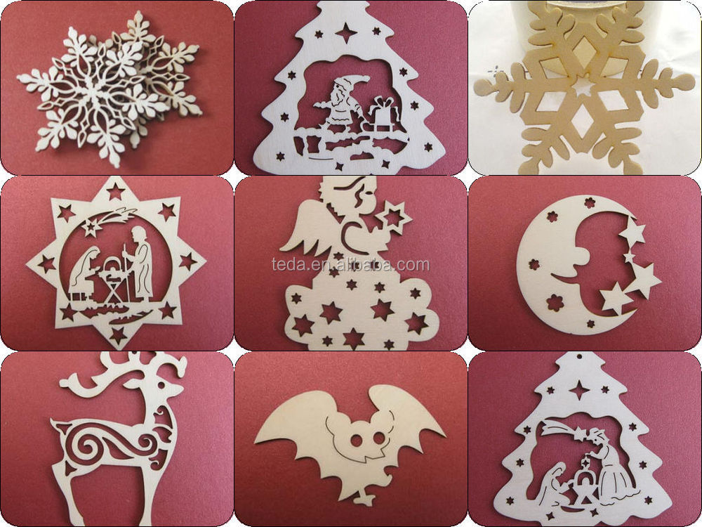 2015teda Laser Cut Wood Christmas Ornament Patterns  Buy Laser