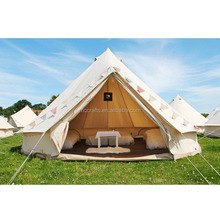 Wedding new design durable used custom white cheap lotus bell tent