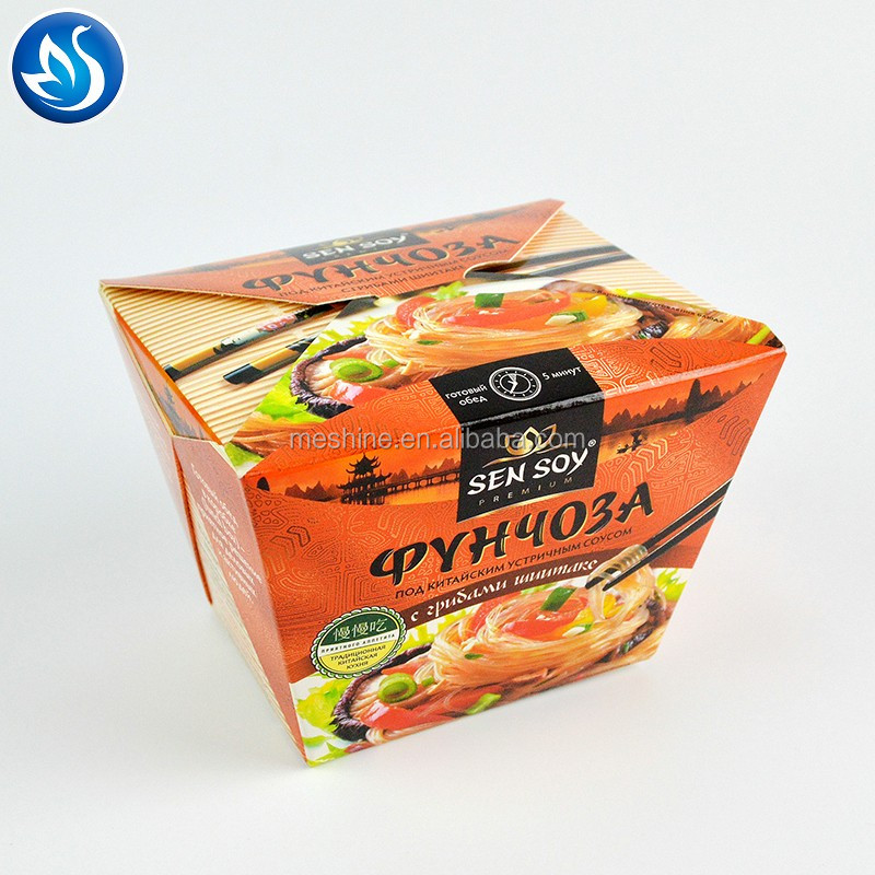 Accept custom order and wax coated paper paper type food pails and noodle boxes