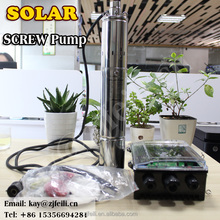 solar dc water submersible pump 80m lift solar water pumps for animal farms bombas de agua para piscinas solares