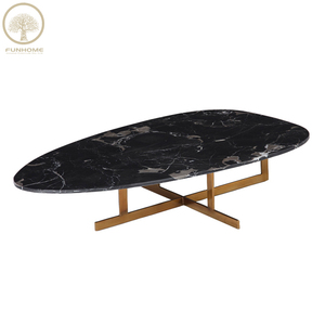 New arrival coffee table high gloss cement coffee table hot sale on line