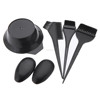 5Pcs/set Makeup Accessories Hairdressing Combo Salon Hair Colouring Brush Dye Comb Mixing Bowl Tint Tool Set Styling Tools Kit