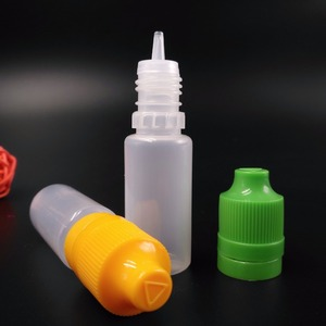 pe e liquid bottle 10ml dropper bottles/e juice bottle injection mould