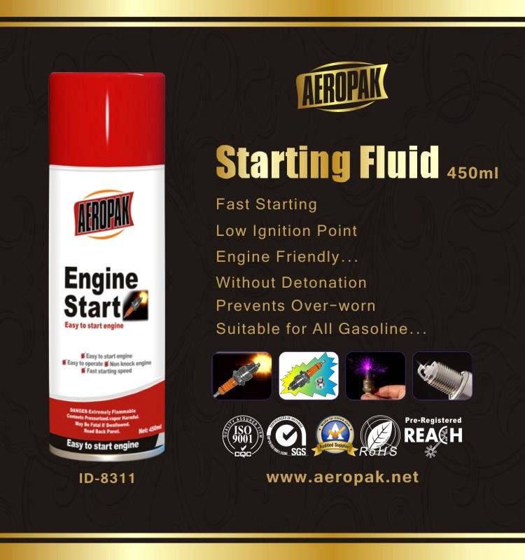 AEROPAK High Quality Low Temperature Of Engine Starting Spray