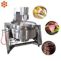 Commercial grade cooking utensils steam cooker kettle cooking cheap boiling industrial steam pot