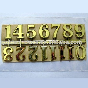 Self Adhesive Clock Numerals, clock numbers, clock parts