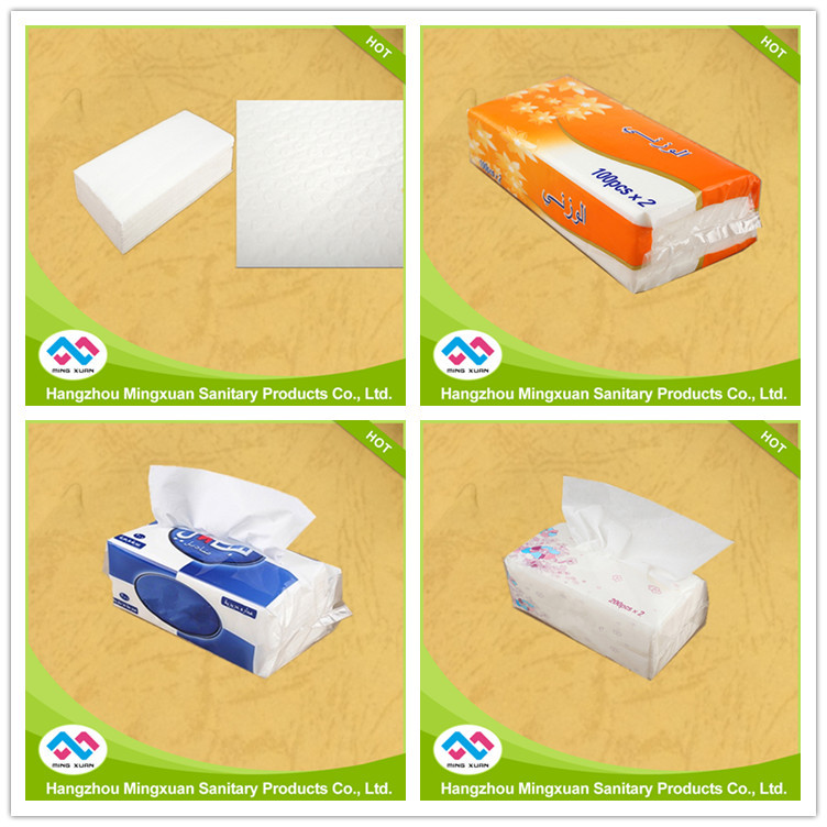 high grade 3ply soft business facial paper tissue with brand name