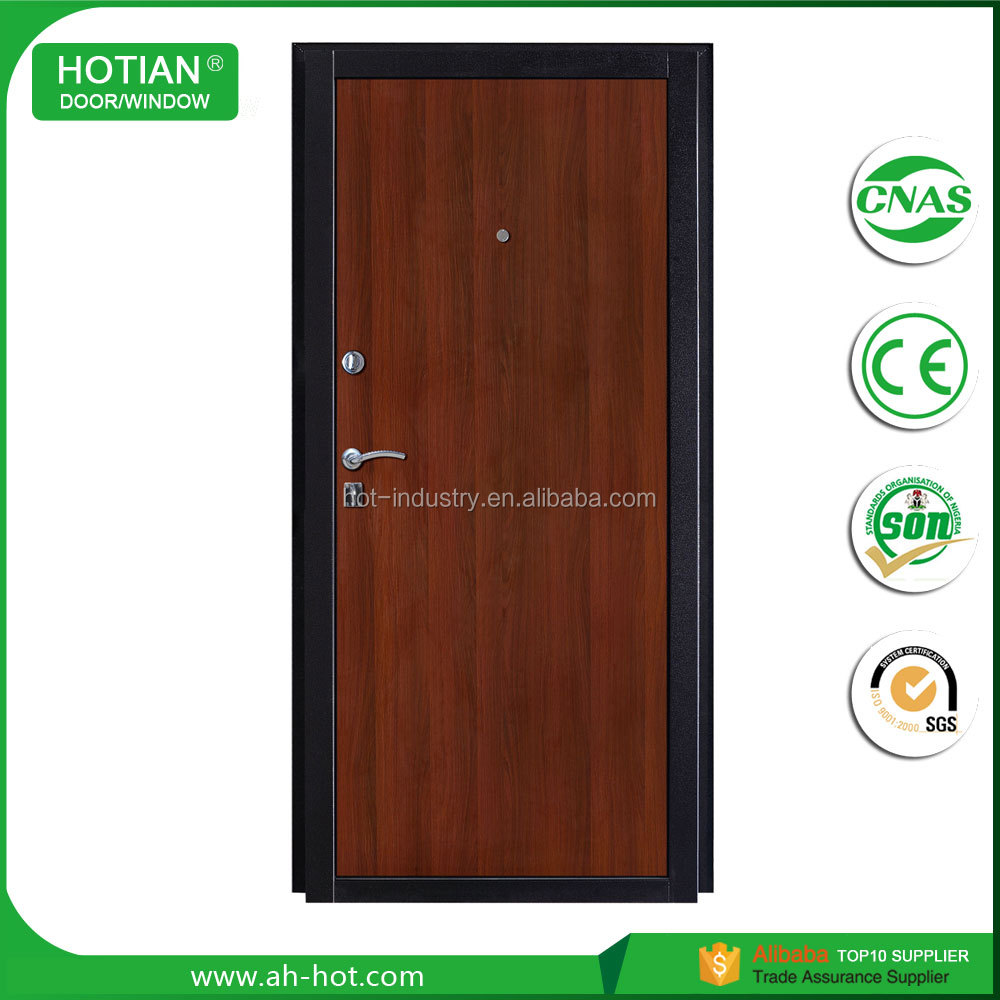 Simple modern house main entrance steel security door latest main gate design steel entry door for villa exterior front door