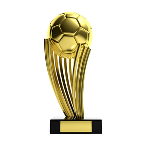 wholesale gold plated world cup trophy football trophy