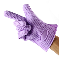 heat resistant bbq grill silicone baking gloves,dish washing silicone baking gloves,LFGB FDA silicone baking gloves