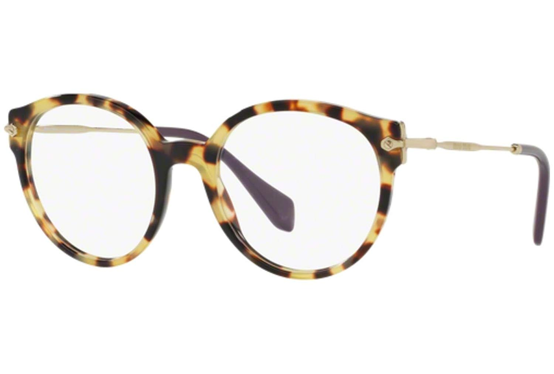 df08bdd82245 Get Quotations · Eyeglasses Miu Miu MU 4PV 7S01O1 LIGHT HAVANA