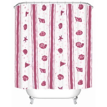 New Anime Pink Beach Children S Room Curtains