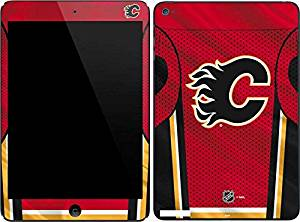 NHL Calgary Flames iPad Mini 4 Skin - Calgary Flames Home Jersey Vinyl Decal Skin For Your iPad Mini 4