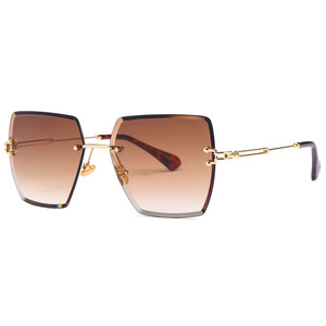 64116 Superhot Eyewear 2018 Fashion Women Sun glasses Female Square Rimless Sunglasses