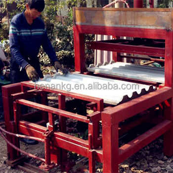 Concrete Roof Tile Forming Machines Full Automatic Roofing
