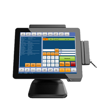 High Quality Pos Manufacturer 15 Inch Touch Cash Machine Pos All In One