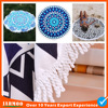 Good quality new type round beach towel free sample