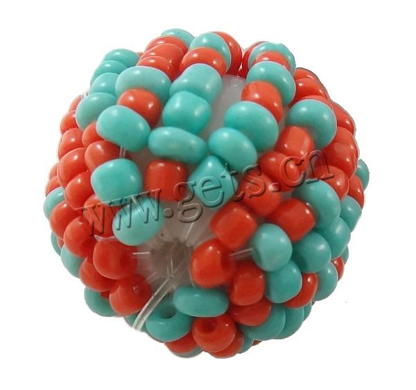 Woven Glass Seed jewelry bead