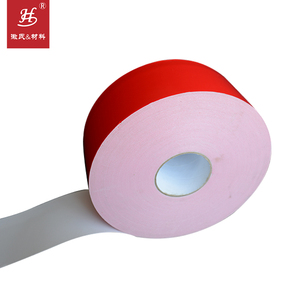 Waterproof double sided acrylic adhesive PE foam mounting hook and loop roll tape