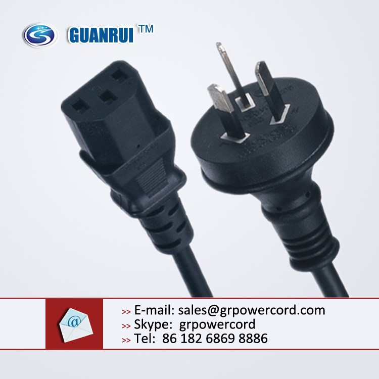 3 pin plug, 1.8m mains extension lead, Australian Electrical Plug