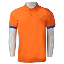 customized scree print CVC high quality polo manufacture