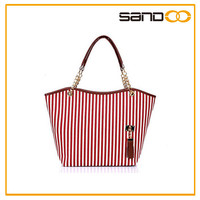 China high quality factory new fashion promotion trendy shopping tote bag