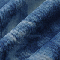 Wholesale 10.8 oz 10*10 cotton twill tie-dyed denim fabric