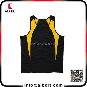 Popular dry fit customized singlet