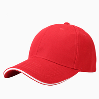High Quality Promotion Custom Baseball hats and caps with sandwich