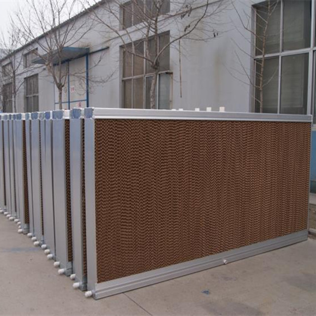 Poultry house /greenhouse/warehouse cooling system cooling pad with Aluminum/Galvanized/Stainless steel frame