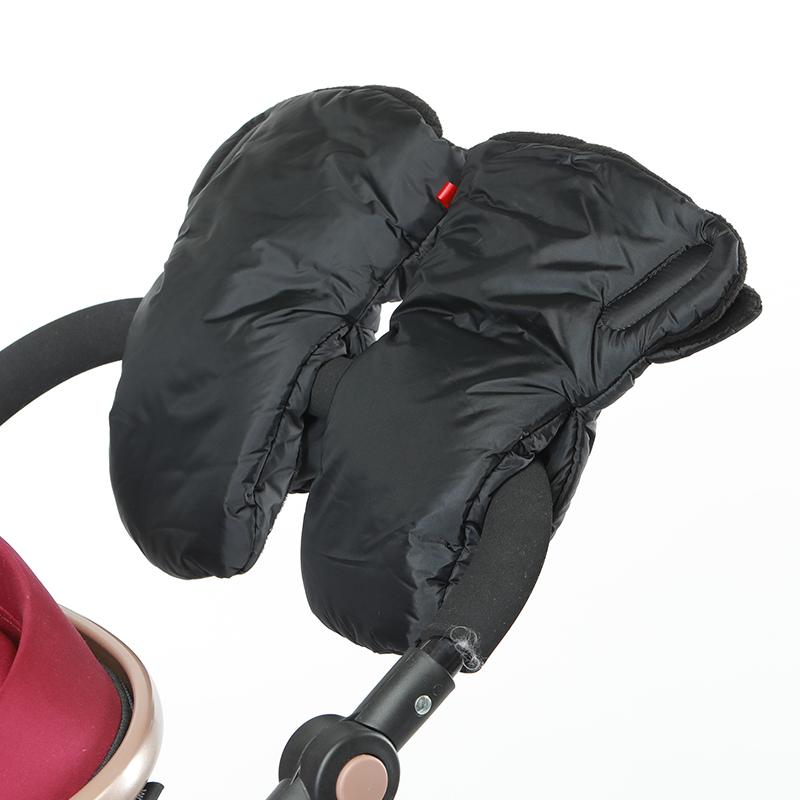 Winter Baby Pram Stroller Hand Muff Fingerless Gloves Warmer