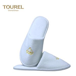 Manufacture customized washable disposable hotel slippers for guests