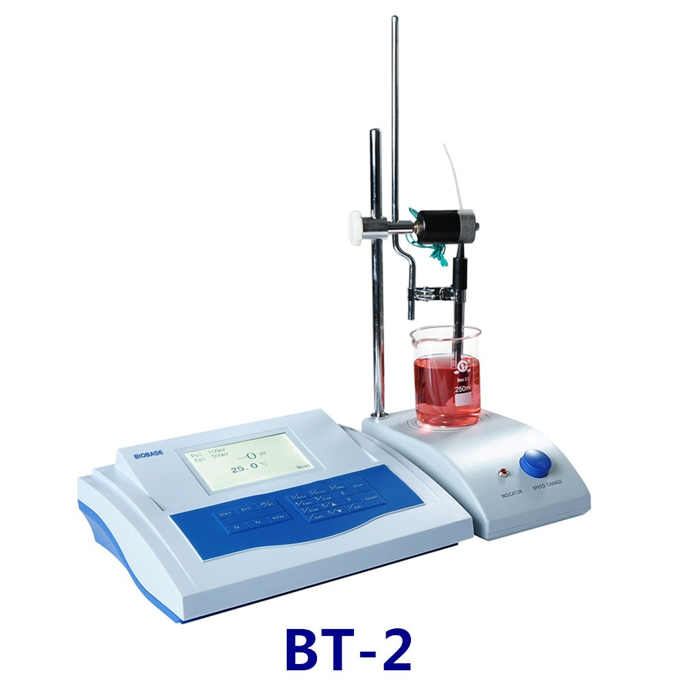 BIOBASE Laboratory BT-2 Automatic Potential Titrator with Stirrer