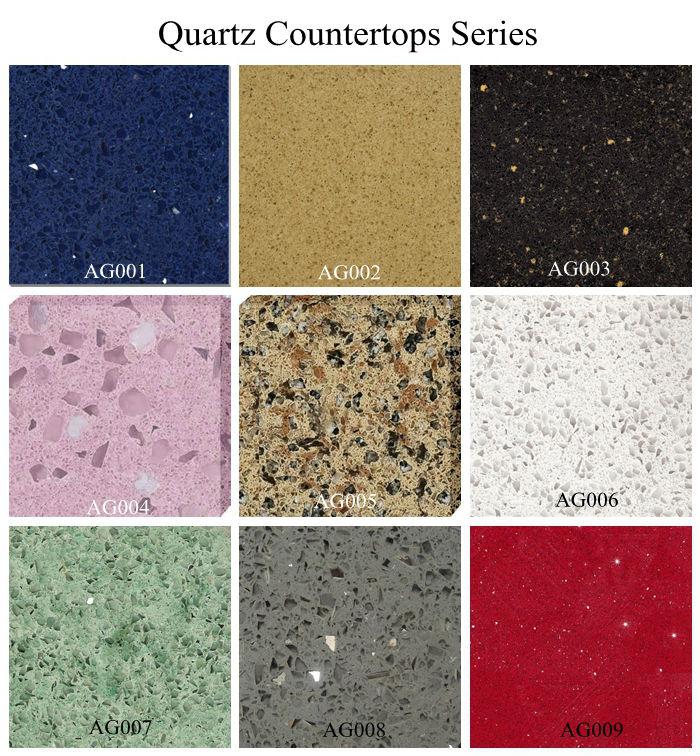 Haobo Stone Popular White Quartz Countertop Wholesale
