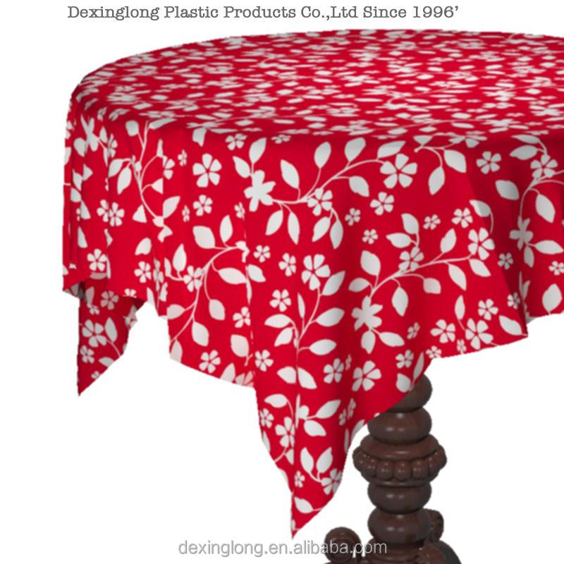 Good quality adhesive table cover table cloth beaded table cover