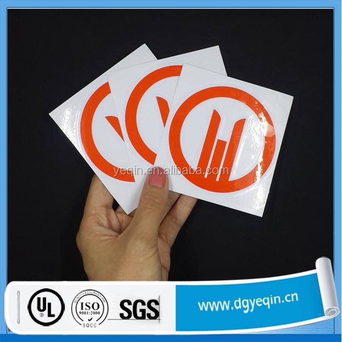 Custom die cut decals wholesale round sticker transfer stickers