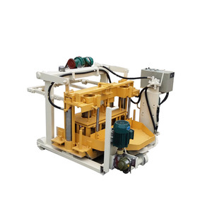 QT40-3A mobile concrete foam agent cutting machine in oman