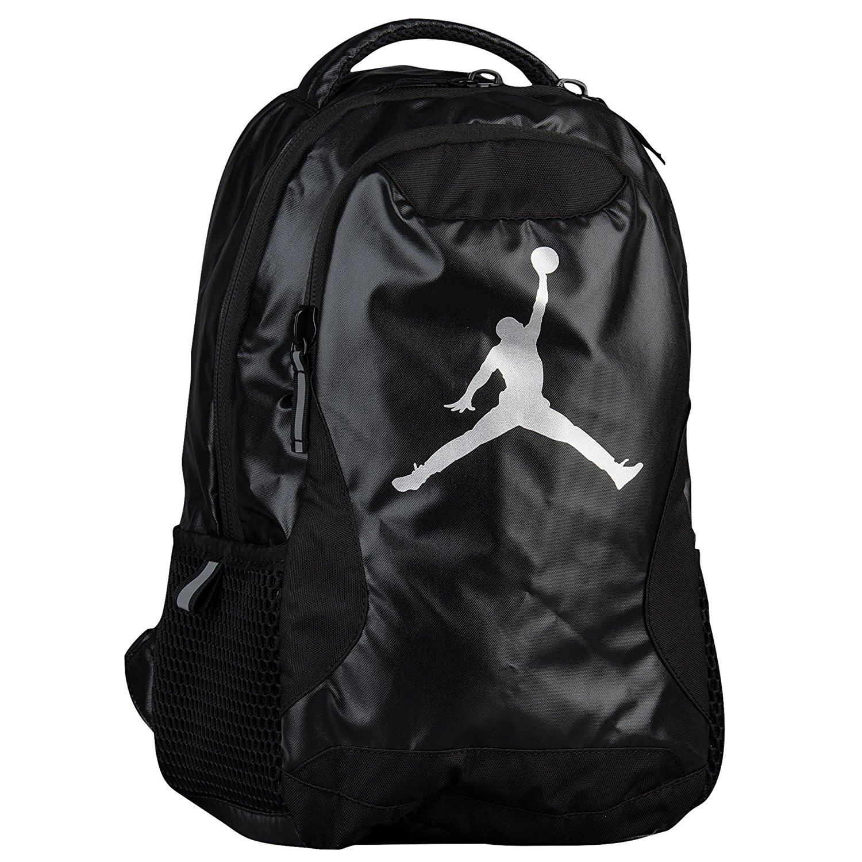 b9319b2ddaa Get Quotations · Nike Premium Backpack Jordan Jumpman Laptop Bookbag Sports Basketball  Kids Backpack