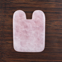 Face Rose Quartz Guasha Massage/Head health guasha tool