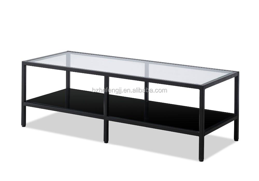 Plasma lcd tv stand eenvoudige metalen frame glas tv tafel buy
