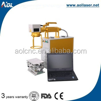 AOL handle fiber laser metal marking machine price with good market