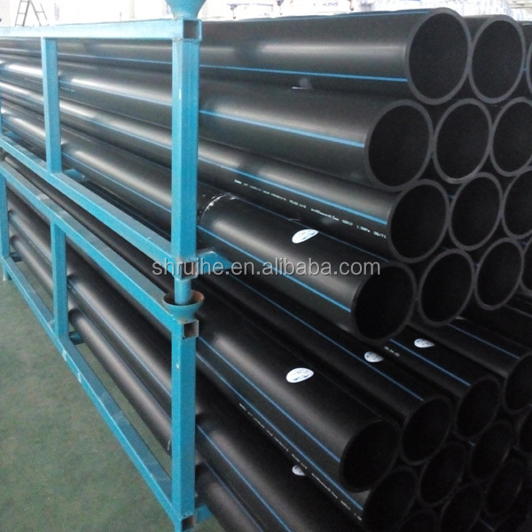 Niedrigen Preis China Hochwertige 400mm Hdpe Rohr Pe Rohr Hdpe