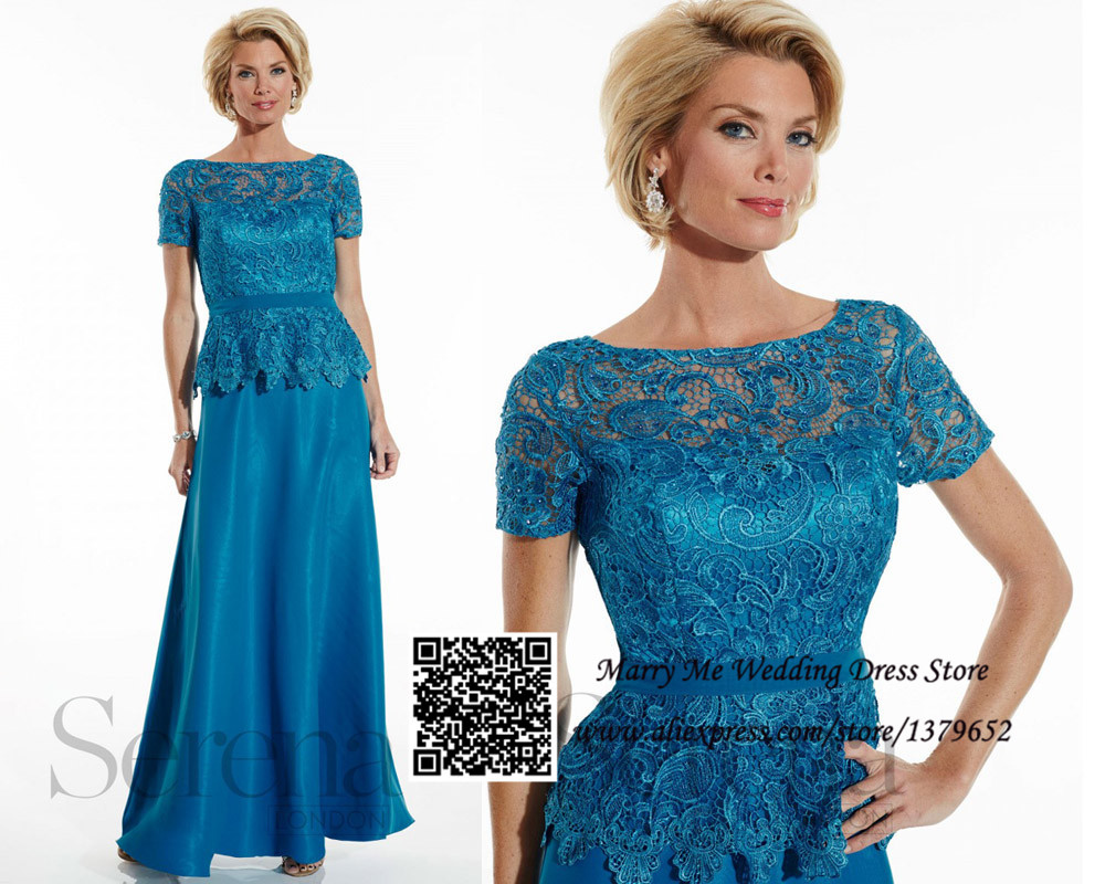 Buy Blue Chiffon Mother of the Bride Dresses Pant Suits One Shoulder ...
