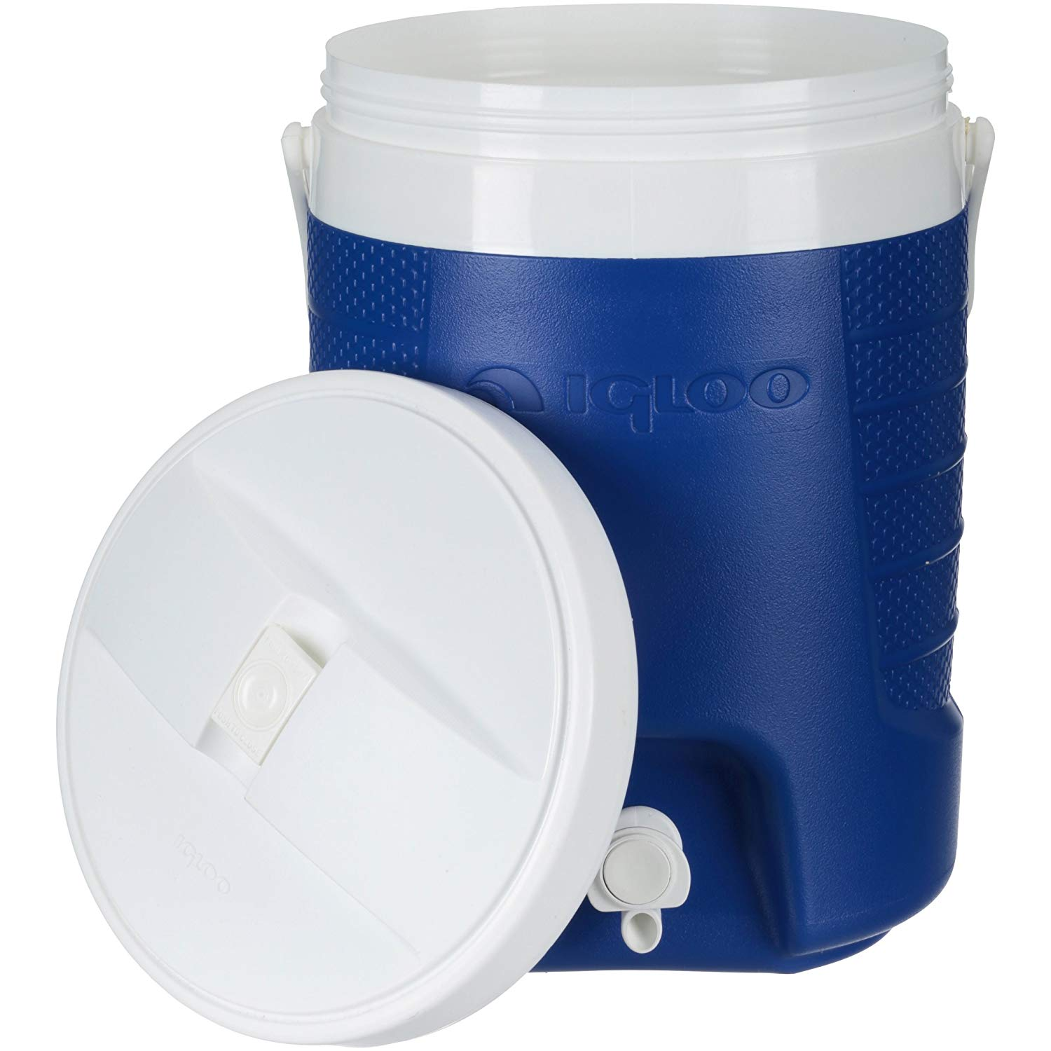 Ice - Cooler 2-gal Sports Beverage, Majestic Blue. This Ice Box Is The Best Way To Keep Food, Drinks & Beer Cool For Outdoor Party, Camping, Travel, Picnic, Fishing, Bbq, Beach, Sports And Pool.