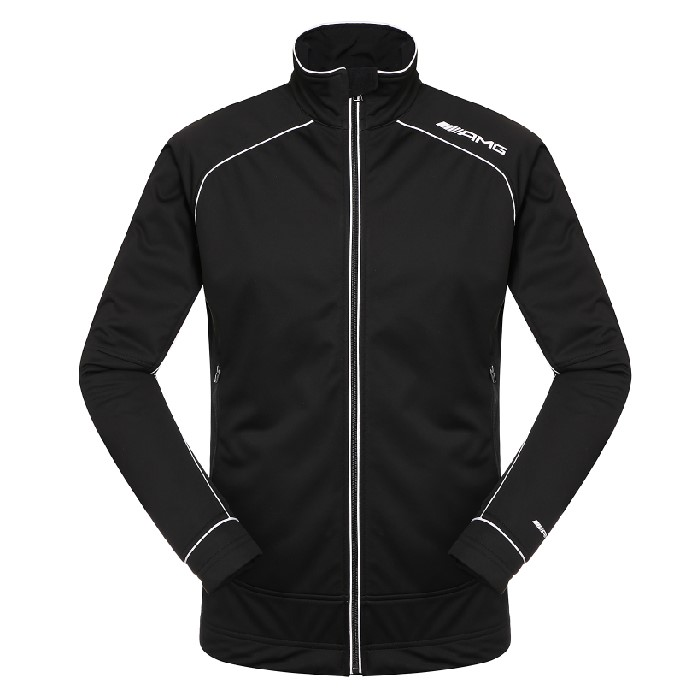 Private logo black softshell jacket