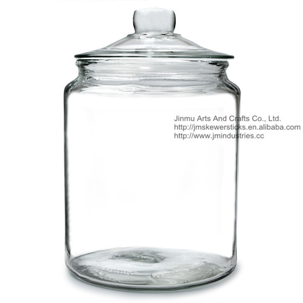 Biscotti Jar Extra Large 6 2ltr Non Tempered Glass Push