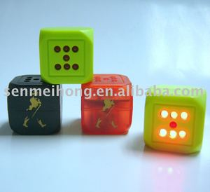promotion dice, led dice